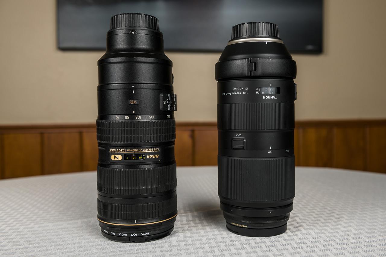 tamron 100-400 vs Nikon 70-200 lens