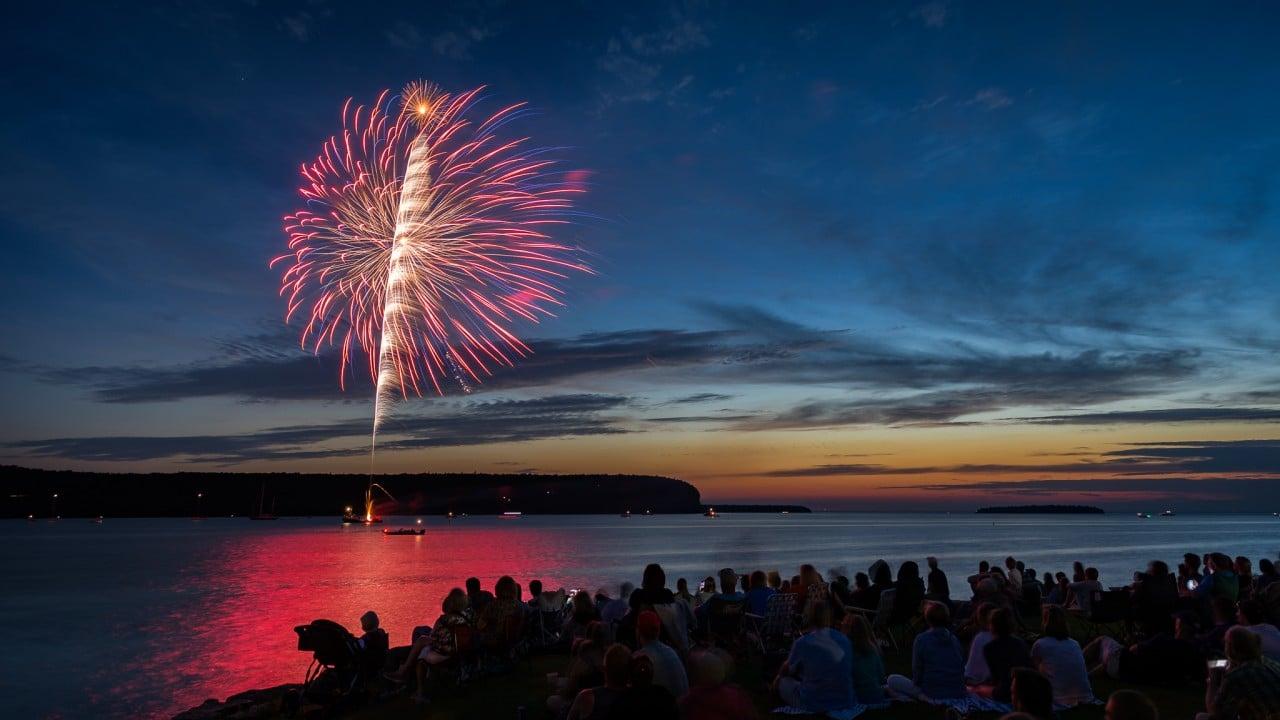 Fireworks Over Ephraim