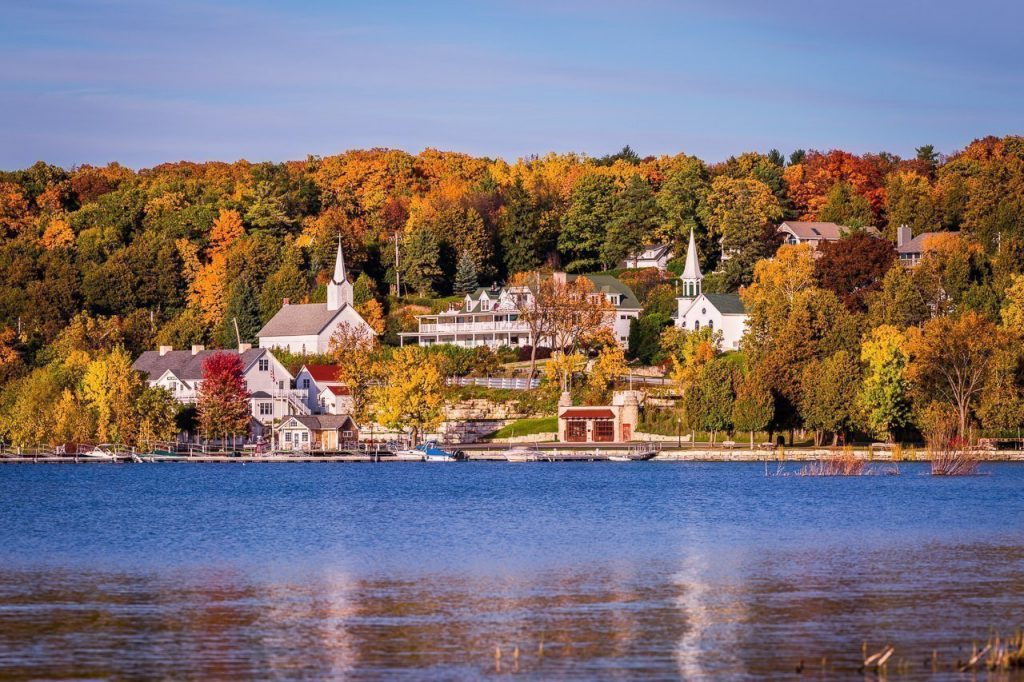 ephraim, door county, fall colors, fall color locations, fall color photography, autumn