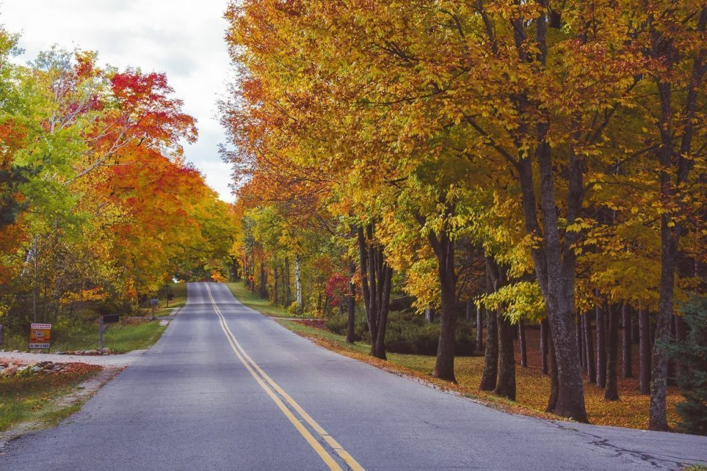 door county, fall colors, fall color locations, fall color photography, autumn