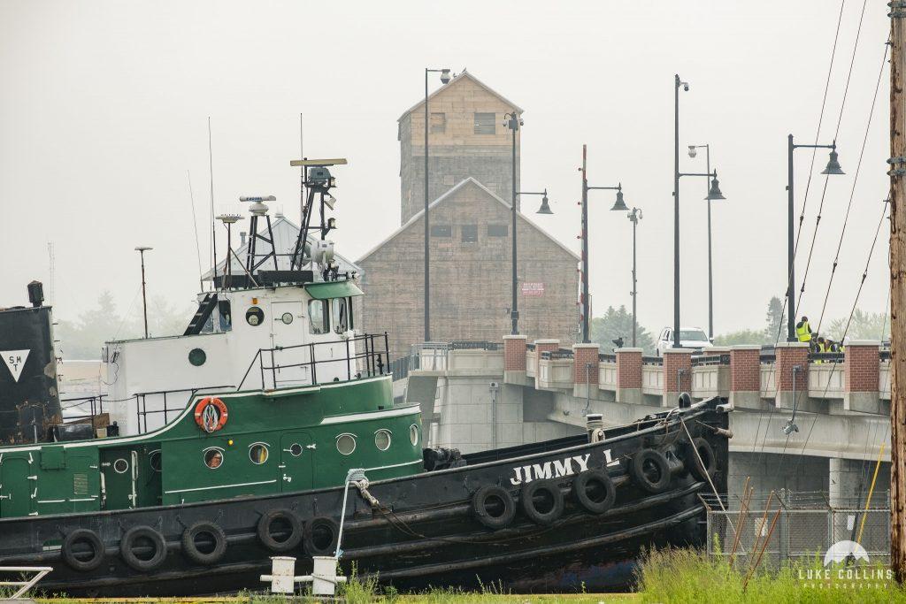 sturgeon bay granary, sturgeon bay, door county, wisconsin, granary moving